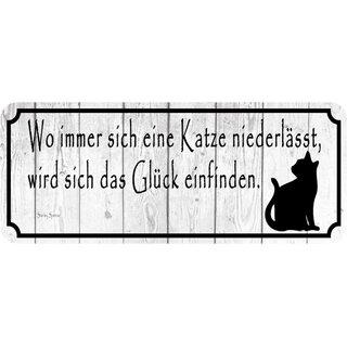 """haben saubere Küche/"""" 27 x 10 cm Blechschild Schild Spruch /""""langweilige Frauen"""