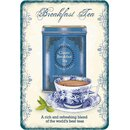 Schild Spruch Breakfast Tea, a rich blend of worlds best...