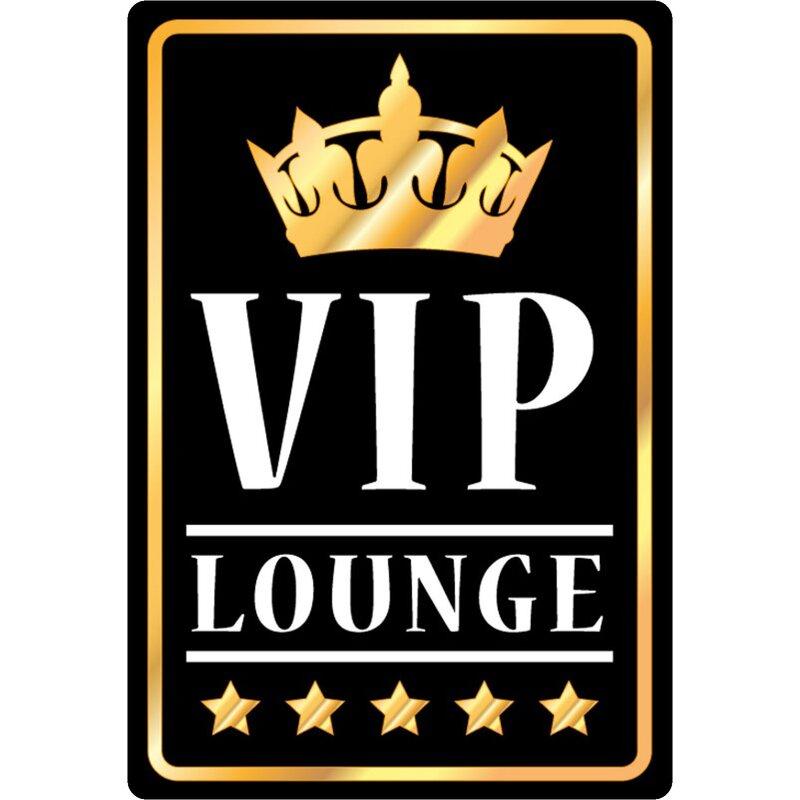 Blechschild 30 x 20 cm VIP Lounge