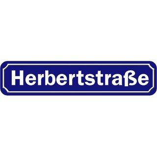 """Schild Straße /""""Beatles Platz/"""" 46 x 10 cm Blechschild blau"""