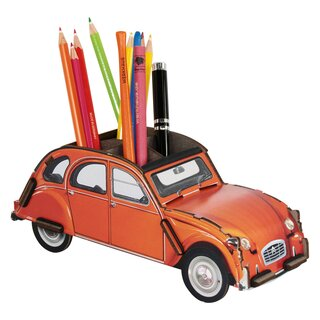 Werkhaus Stiftebox Citroen 2CV Orange