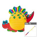 Set Laterne Dino inkl. 50 cm LED Laternenstab
