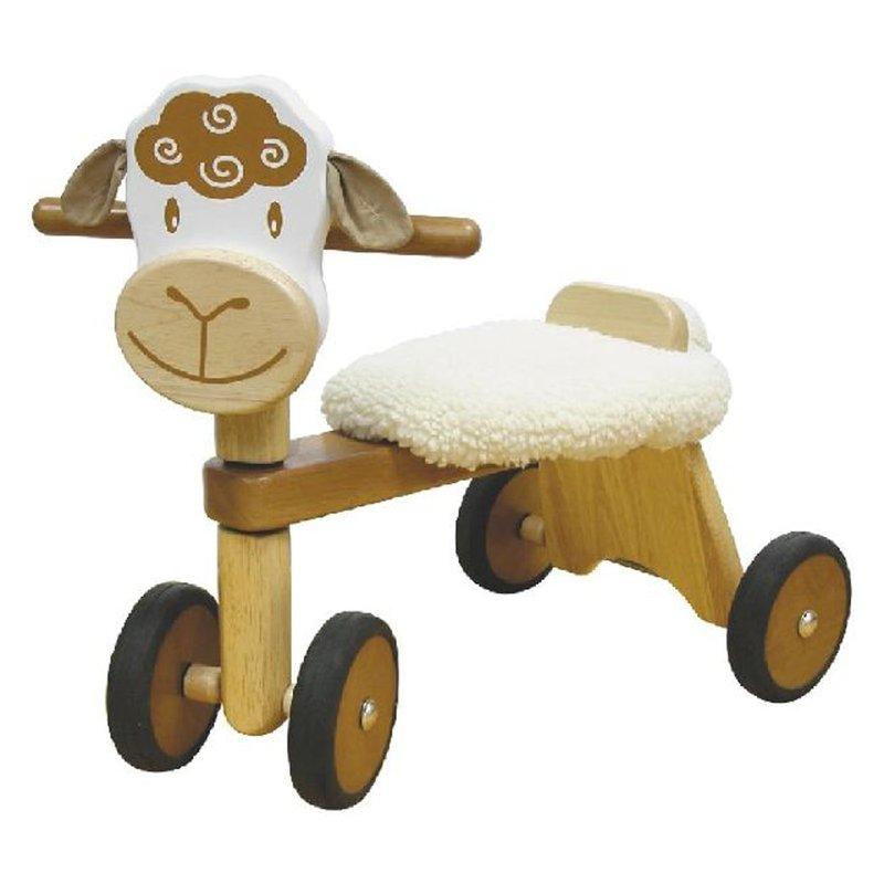 Rutscher Schaf Holzspielzeug