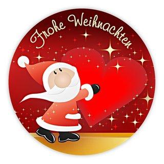Frohe Weihnachten Herz.Olshop Ag