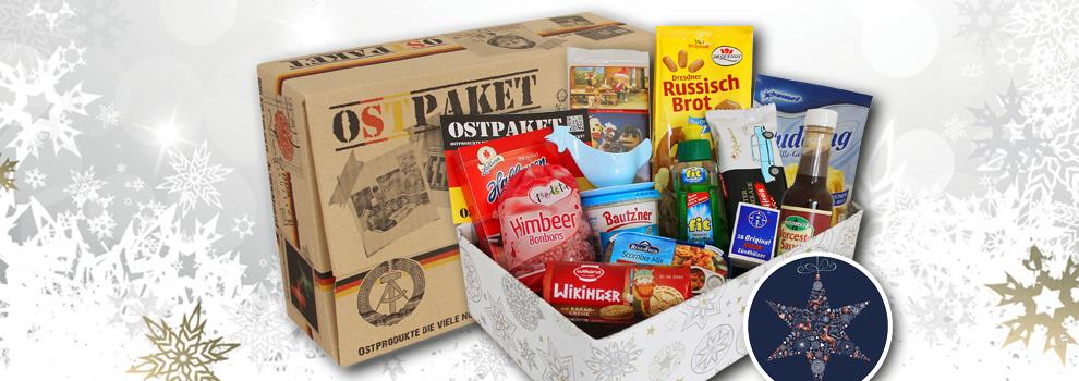 Ostpakete mit Geschenkverpackung